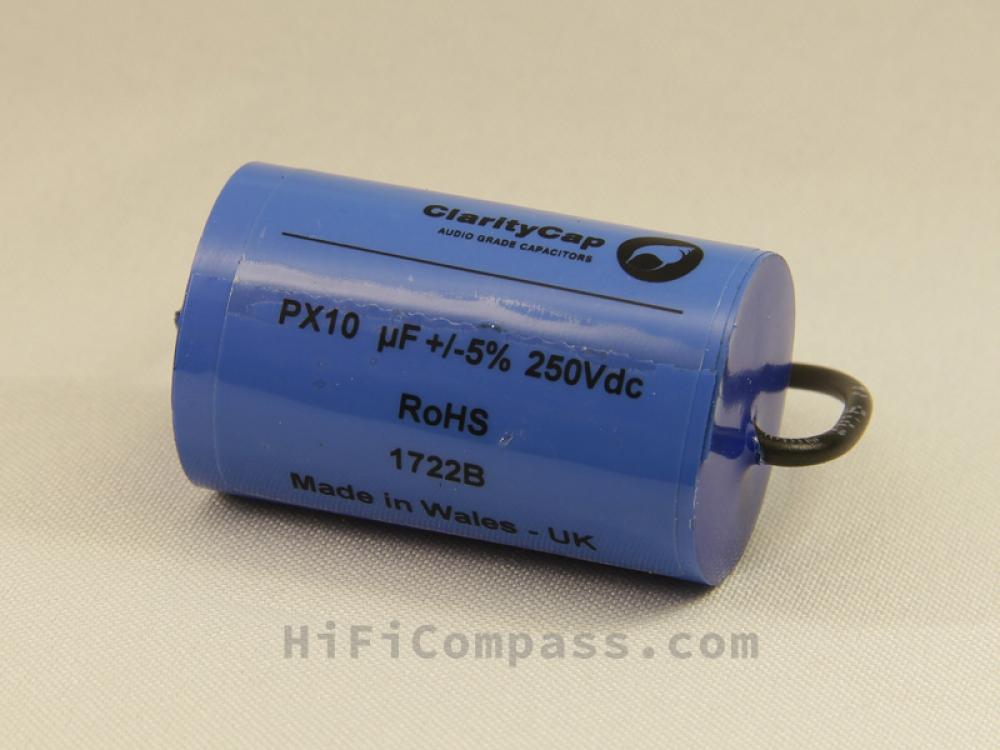 ClarityCap PX 10µF 250V 5% | HiFiCompass