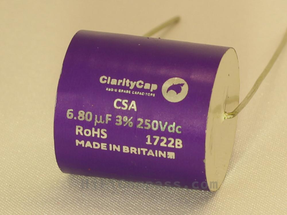 ClarityCap CSA 6 8µF 250V 3%   HiFiCompass